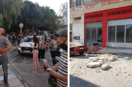 VIDEO/ Tërmeti 5.8 ballë trondit Kretën, shemben shtëpi, raportohet për persona të bllokuar nën rrënoja